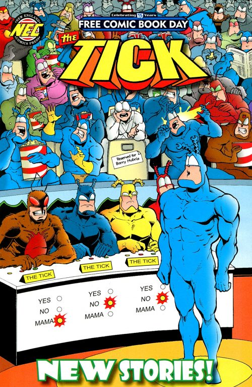 The Tick - Free Comic Book Day 2016 001